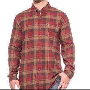 G.H. Bass & Co. Fireside Flannel Shirt-NWT-LARGE